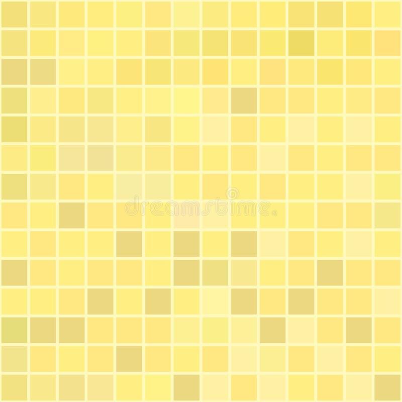 Gelbe Mischung stock abbildung