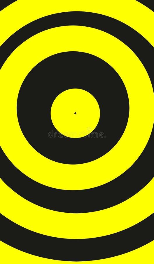 Download Gelbe Runde stock abbildung. Illustration von groß, abbildung - 90231552