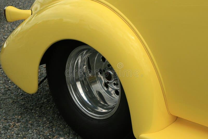 Gelbe Schutzvorrichtung lizenzfreies stockfoto