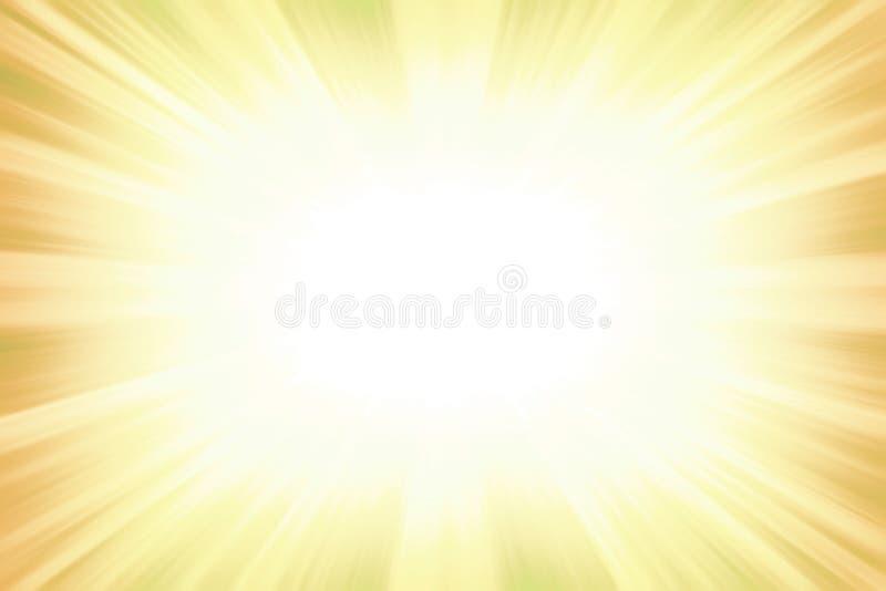 Gelbe starburst Explosionsgrenze stockfoto