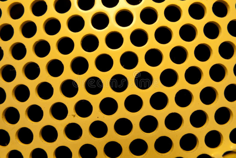 Gelbe und schwarze Löcher stockfotografie