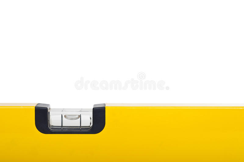 Gelbe Wasserwaage lizenzfreies stockfoto