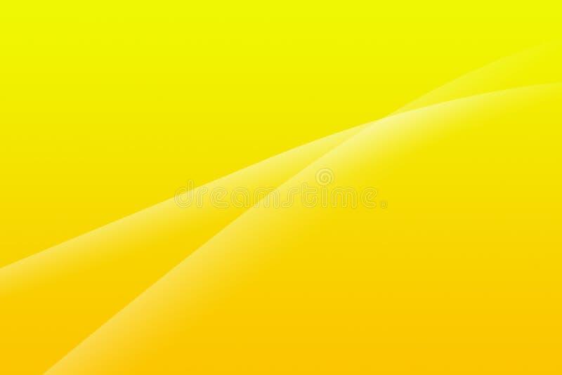 Gelber abstrakter Hintergrund lizenzfreie abbildung