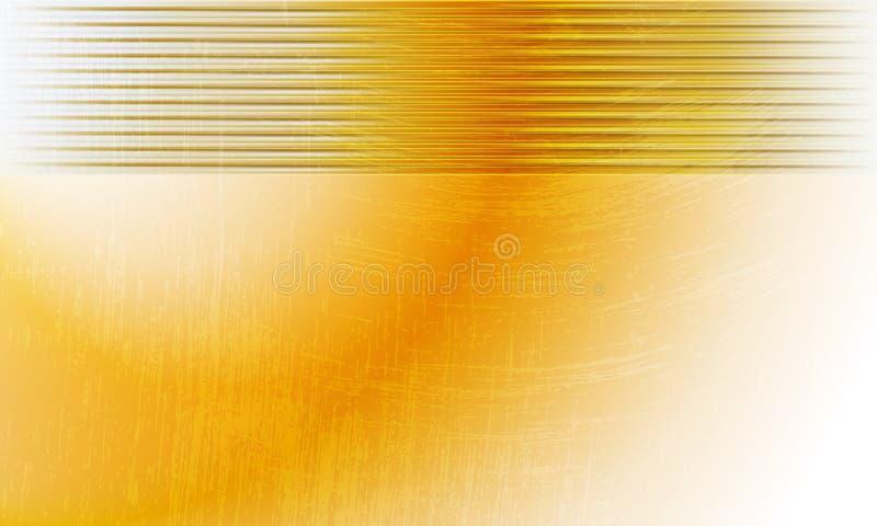 Gelber abstrakter Hintergrund vektor abbildung
