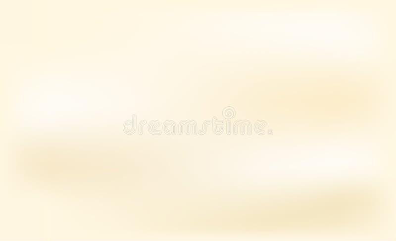 Gelber abstrakter Hintergrundvektor stock abbildung