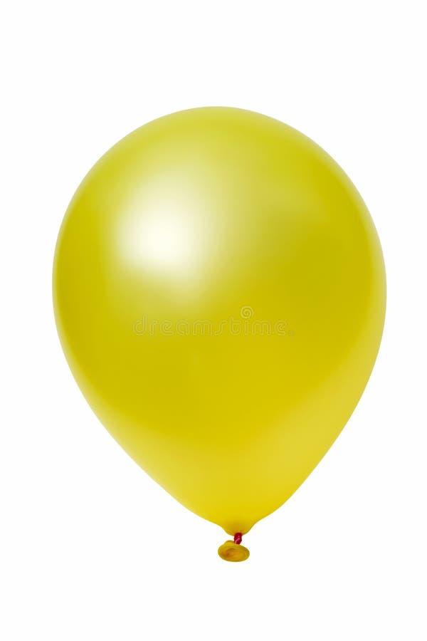Gelber Ballon stockbilder
