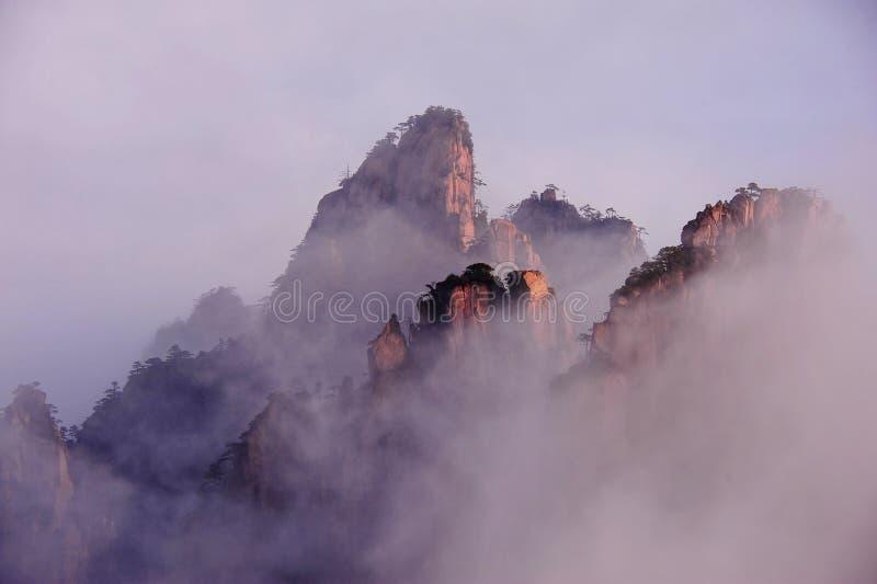 (Gelber) Berg Huangshan lizenzfreie stockfotografie