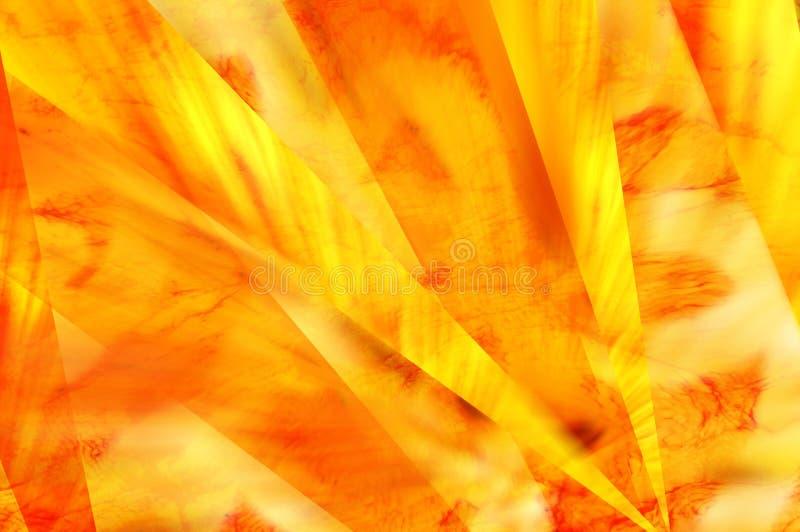 Gelber Bewegungshintergrund stock abbildung