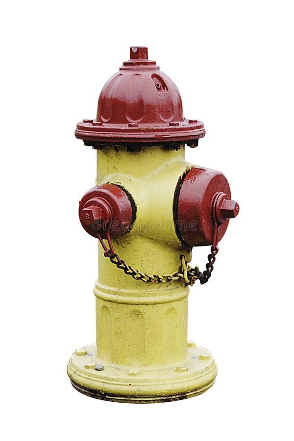 Gelber Feuer-Hydrant lizenzfreies stockfoto
