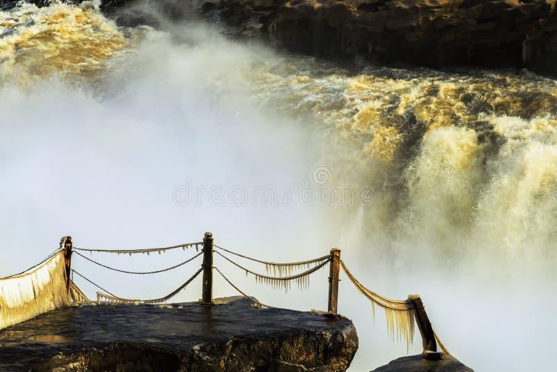 Gelber Fluss stockfoto