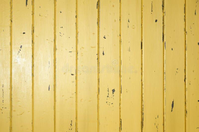 Gelber hölzerner Hintergrund
