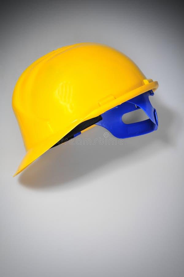 Gelber harter Hut stockfoto