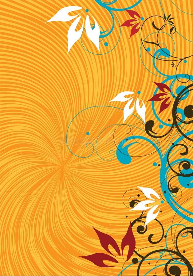 Gelber Hintergrund stock abbildung