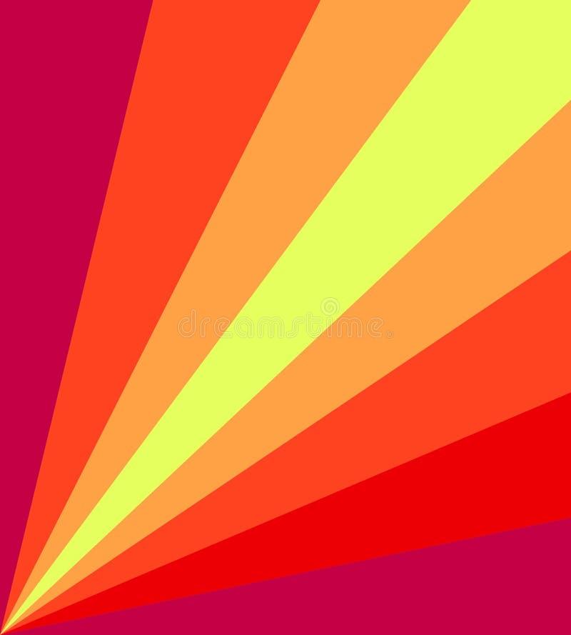 Gelber roter Hintergrund lizenzfreies stockbild