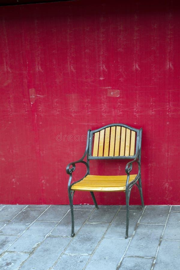 Gelber Stuhl Stockbild Bild Von Kaffee Traditionell
