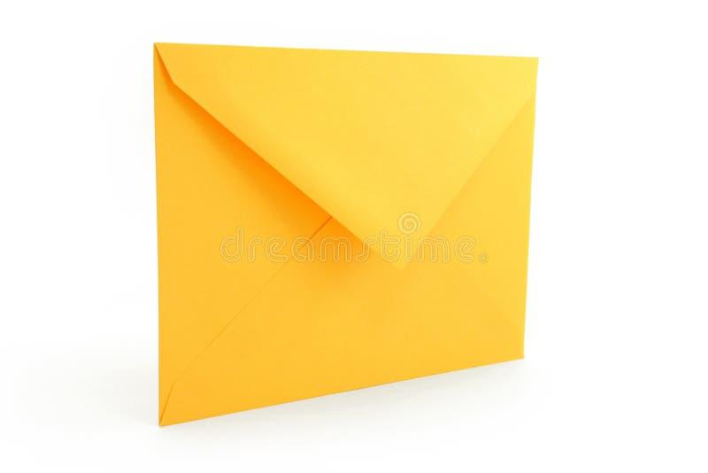 Gelber Umschlag stockfoto