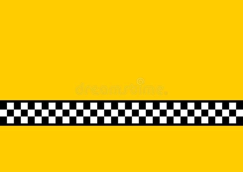 Gelbes Fahrerhaus stock abbildung