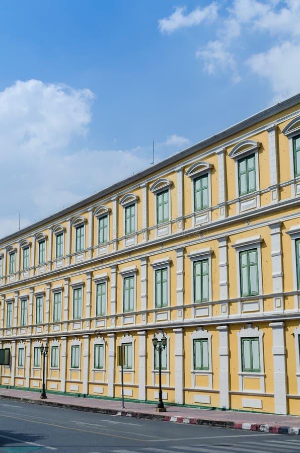 Gelbes Gebäude stockfoto