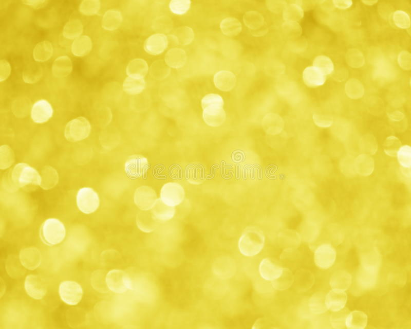 Gelbes Goldunschärfe-Hintergrund - Weihnachtsvorrat-Bild stockfotos