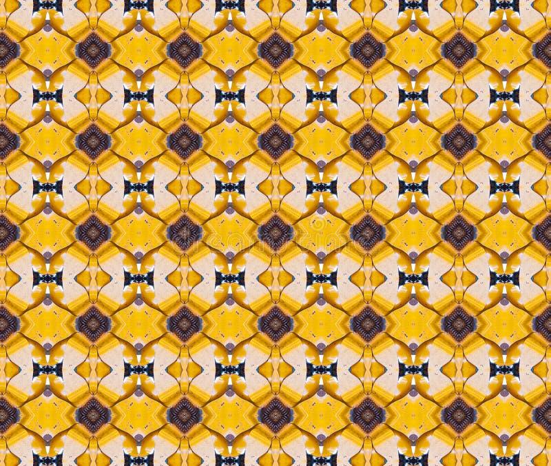 Gelbes Metallkopierter Hintergrund lizenzfreies stockfoto