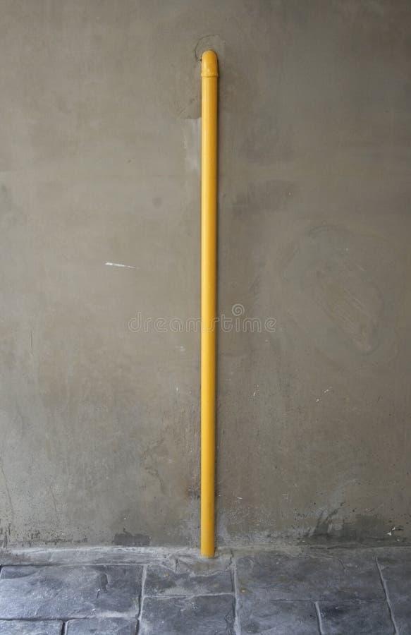 Gelbes Rohr lizenzfreies stockfoto