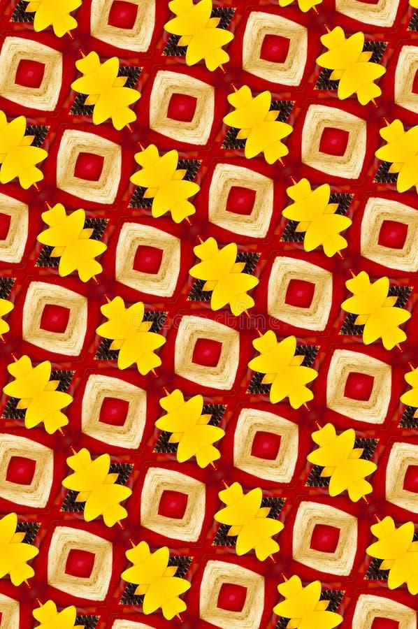 Gelbes und rotes Metall kopierter Hintergrund stockfotografie