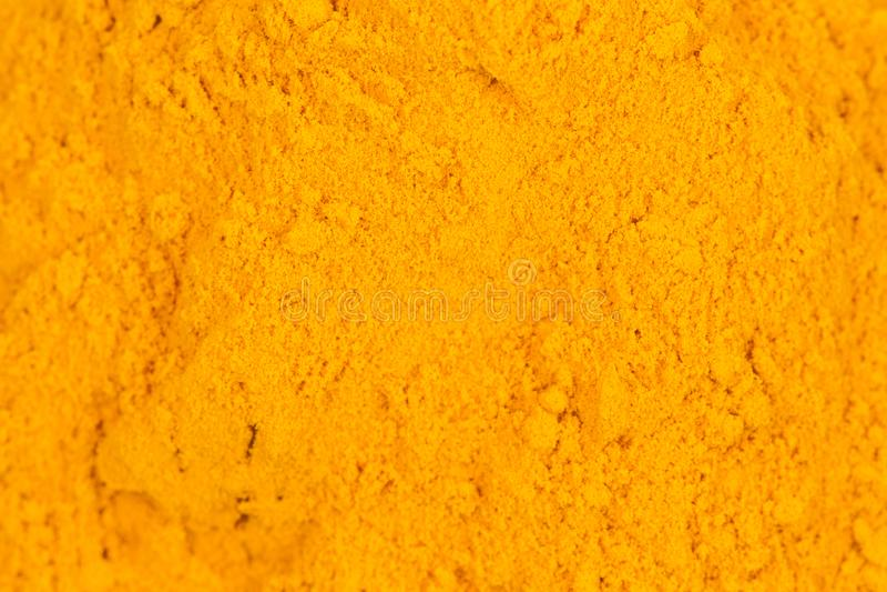Gelbwurzpulver lizenzfreies stockfoto