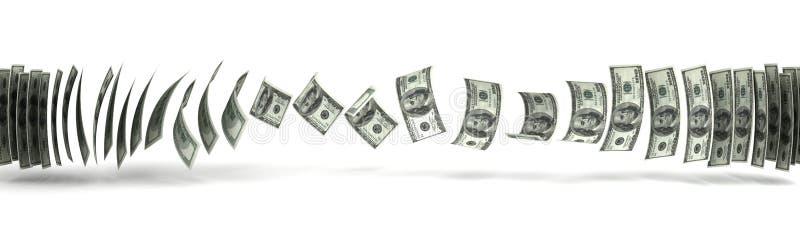 Geldüberweisung lizenzfreie abbildung