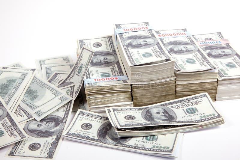 Geld, 100 Dollars stock foto's