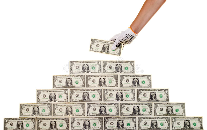 Geld (4) stock foto