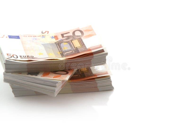 Geld - 50 Euro stock afbeelding