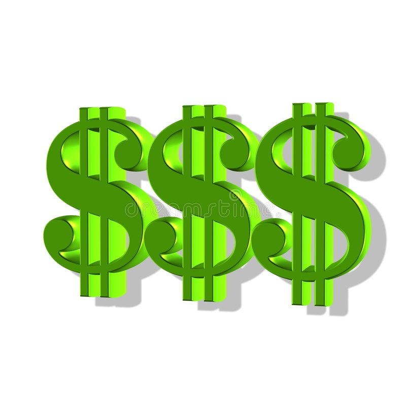 Geld lizenzfreie abbildung