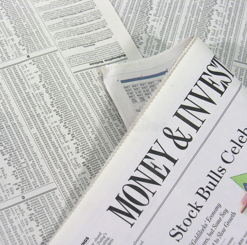 Geld & het Investeren royalty-vrije stock afbeelding