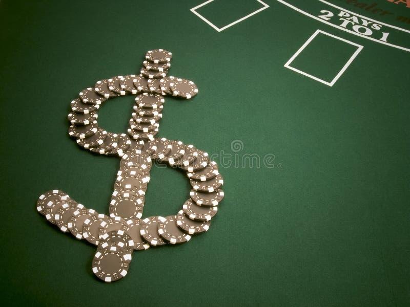 Geld-Chips stockfoto