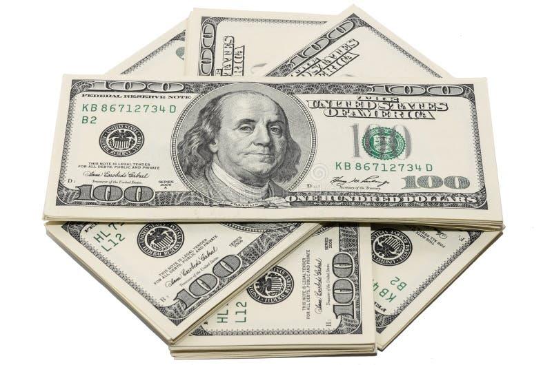 Geld in de V.S. stock afbeeldingen