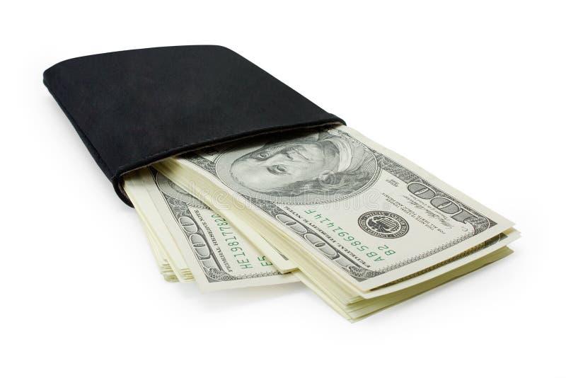 Geld in den Fonds stockbild