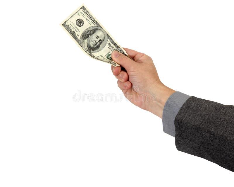 Download Geld in der Hand stockfoto. Bild von grün, rechnung, invest - 27726418