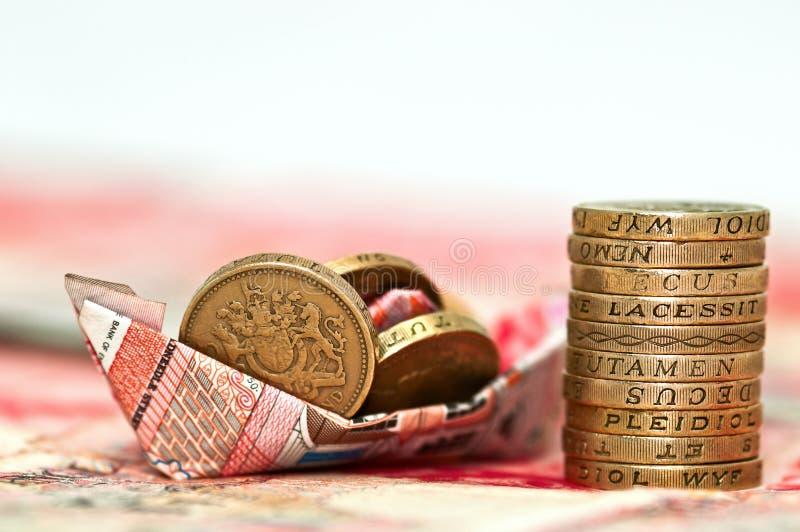 Geld - Einsparung-Investition lizenzfreie stockfotografie