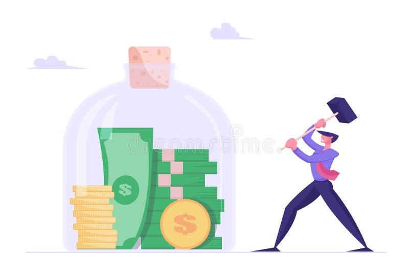 geld von der bank nehmen