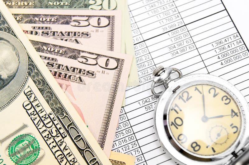 Geld en financiën. royalty-vrije stock foto's