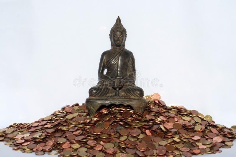 Geld en Zen royalty-vrije stock afbeelding