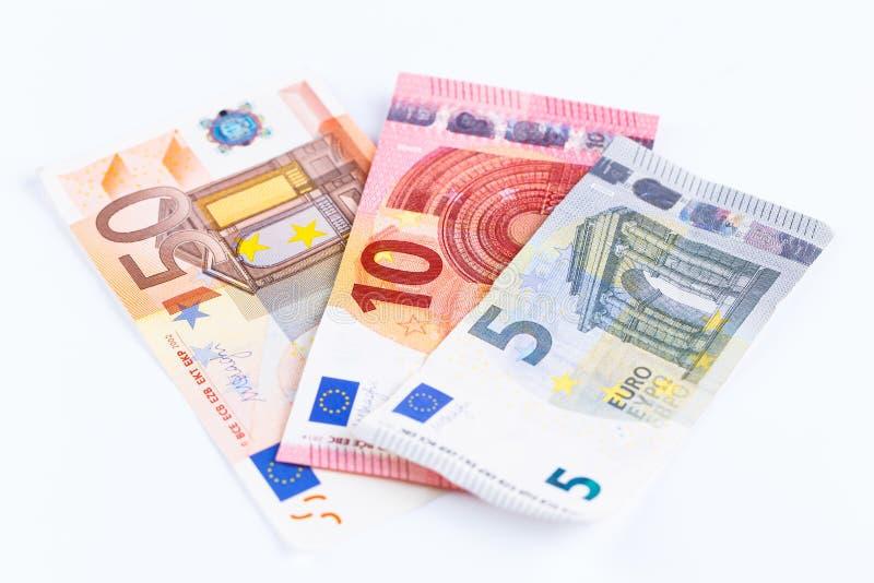 Download Geld, Euro Geïsoleerde Munt (EUR) Rekeningen Stock Afbeelding - Afbeelding bestaande uit achtergrond, geld: 54083825