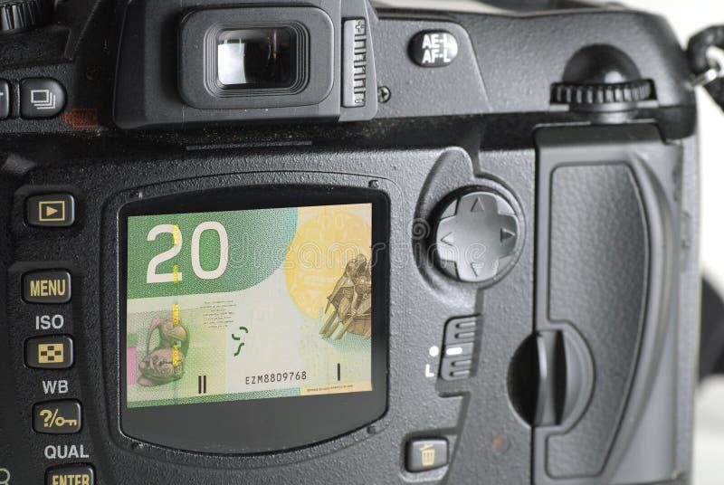 Geld für Ablage lizenzfreie abbildung