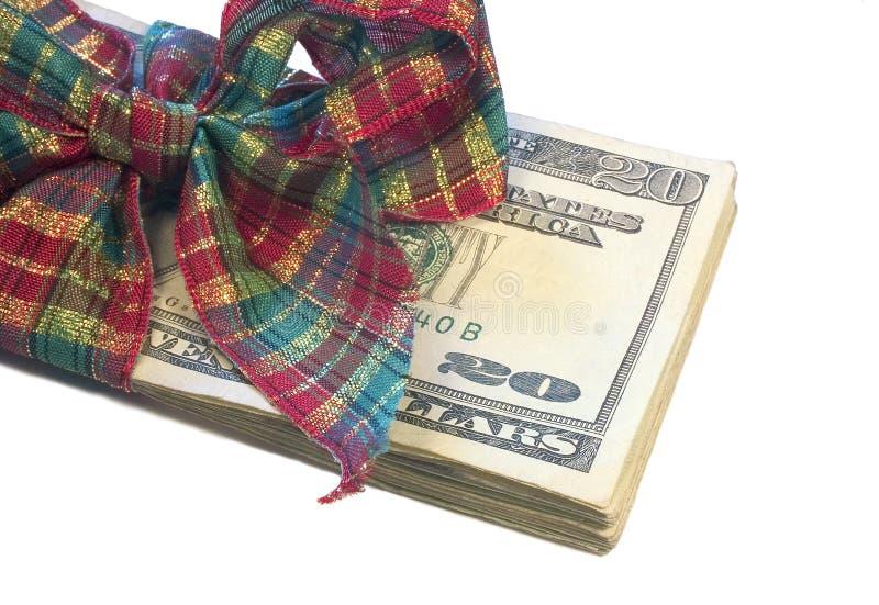 Geld-Geschenk lizenzfreie stockfotografie