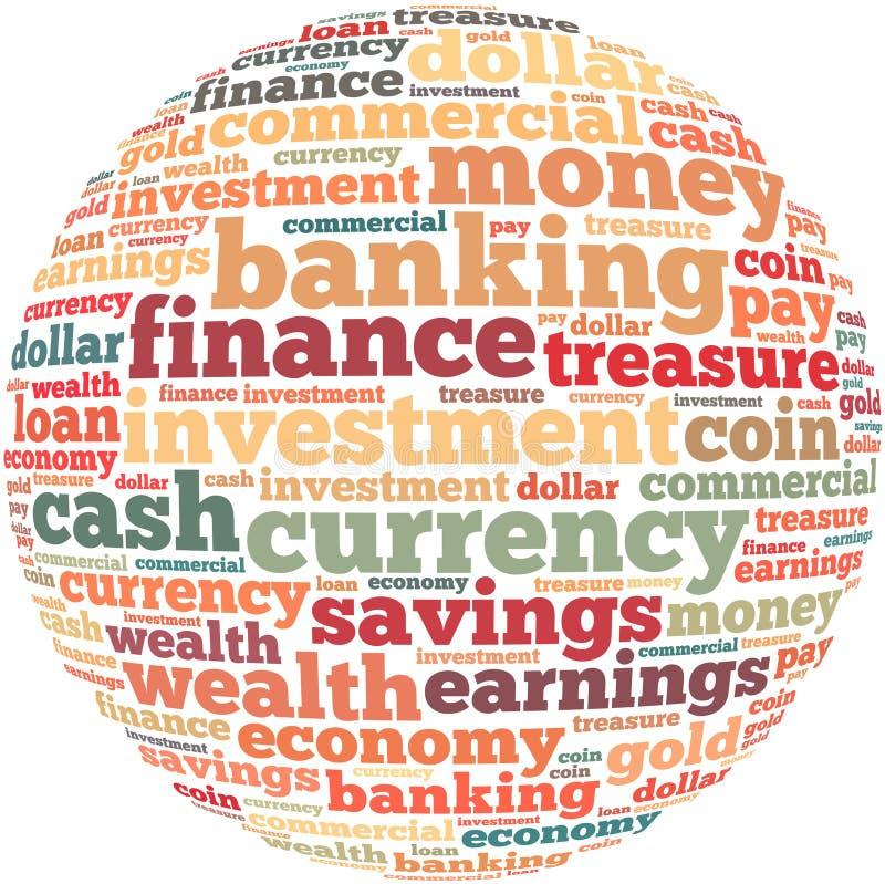 Geld informatie-tekst grafiek en regelingsconcept royalty-vrije stock afbeelding