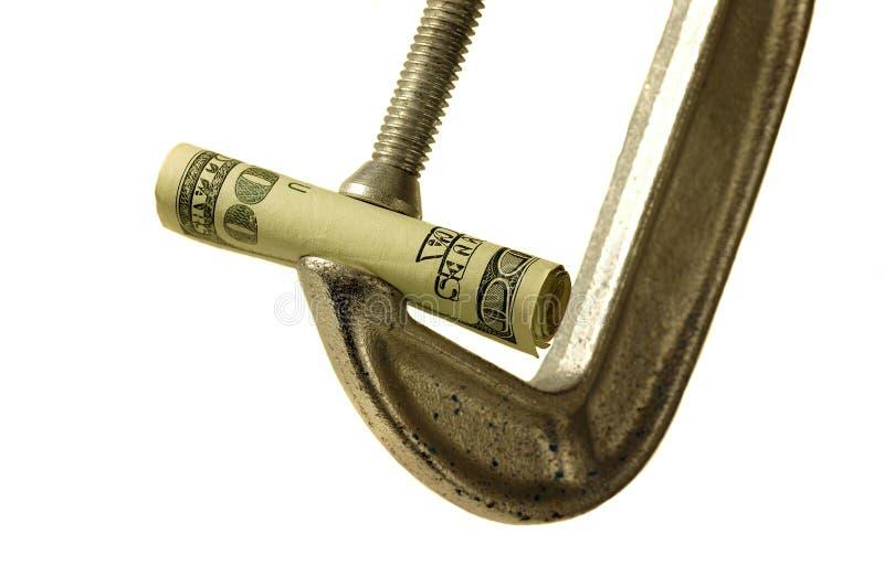 Geld ist knapp lizenzfreie stockbilder