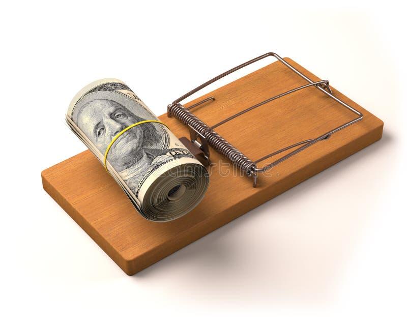 Geld-Köder vektor abbildung