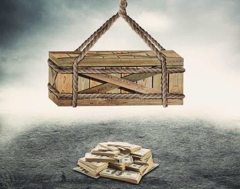 Geld-Köder lizenzfreies stockfoto