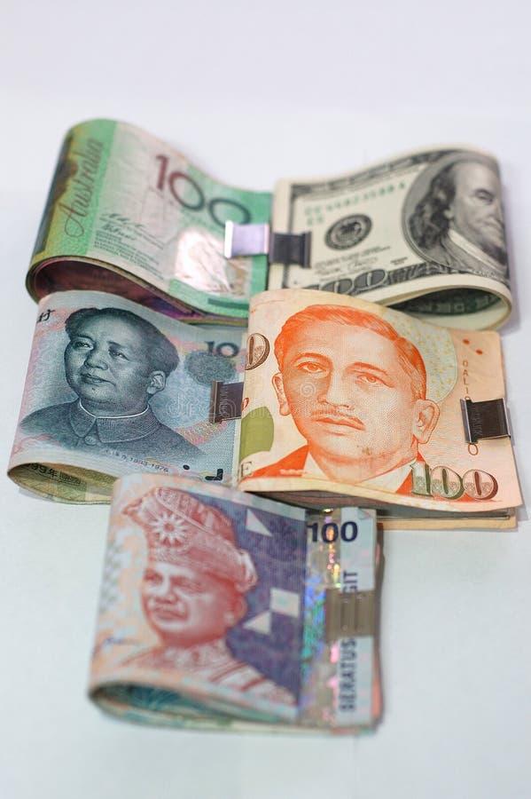 Geld-klipp Stockbilder