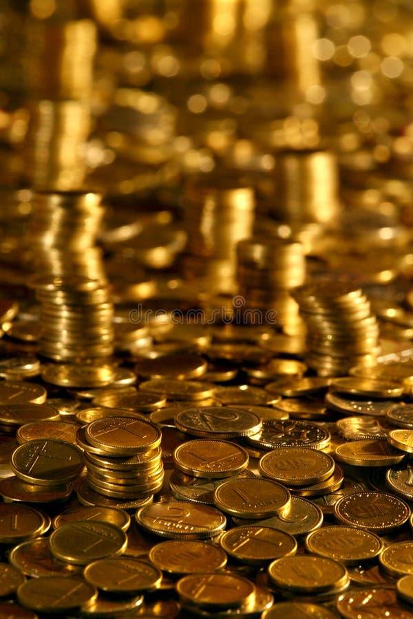 Geld-Kontrolltürme lizenzfreie stockfotos